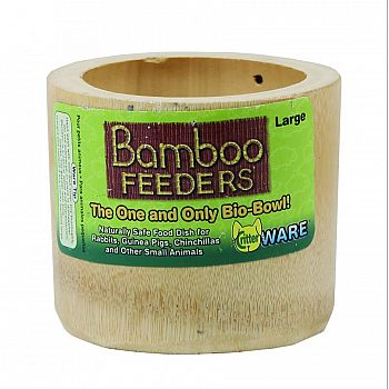 Bamboo Feeders Bowl For Small Anim New Item   1225