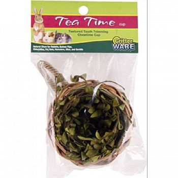Tea Time Cup Natural Chew For Small Animals