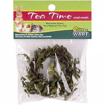 Tea Time Wreath Natural Chew For Small Animals