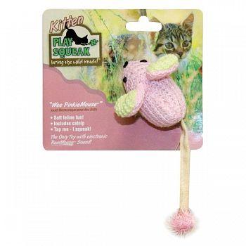 Play-N-Squeak Wee PinkieMouse Cat Toy