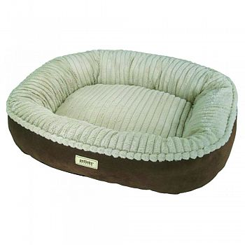 Canine Cocoon Premium Bolstered Pet Bed - 28 X 24 in.