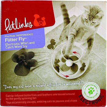 Petlinks Flitter Fly Electronic Cat Toy
