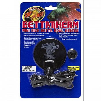Bettatherm Betta Bowl Heater - 7.5 Watt