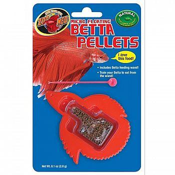 Micro Floating Betta Pellets - 0.1 oz.