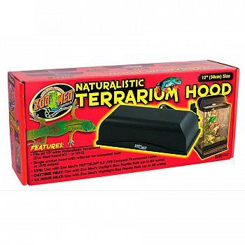 Single Socket Terrarium Hood 12 inch