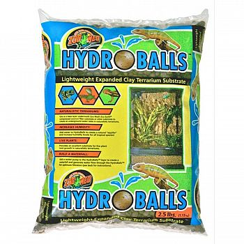 HydroBalls Lightweight Expanded Clay Terrarium Substrate - 2.5 lb.