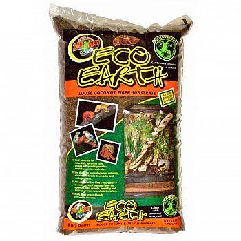 Eco Earth Loose Coconut Fiber Substrate for Terrariums - 8 qt.