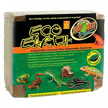 Eco Earth Compressed - 3 pack