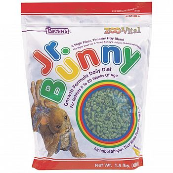 Jr. Bunny Growth Formula Diet - 1.5 lb.