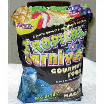 Tropical Carnival Macaw Gourmet Food - 14 lb.