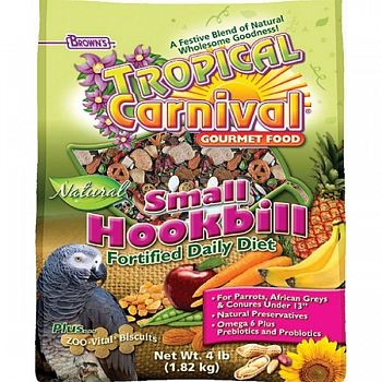 Tropical Carnival Natural Parrot - 3.5 lbs