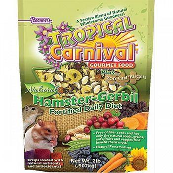 Tropical Carnival Natural Hamster and Gerbil - 2 lbs.
