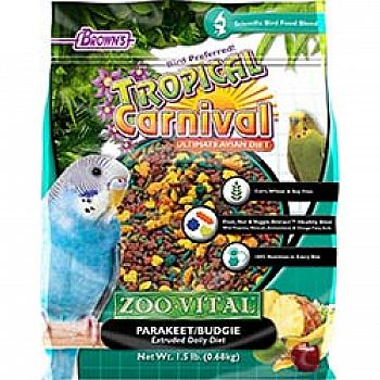Tropical Carnival Zoo-vital Parakeet Food