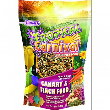 Tropical Carnival Canary And Finch Food  1.5 POUND