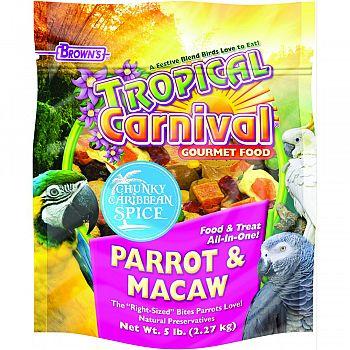 Tropical Carnival Chunky Carribean Spice  5 POUND