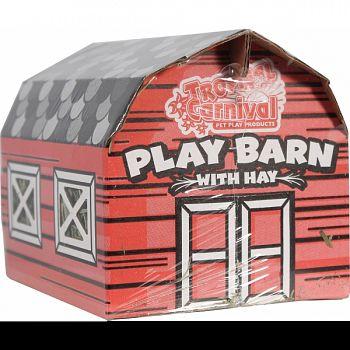 Tropical Carnival Play Barn With Hay  3 OUNCE