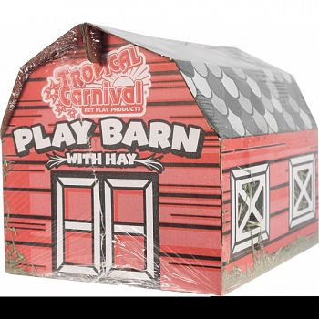 Tropical Carnival Play Barn With Hay  8 OUNCE