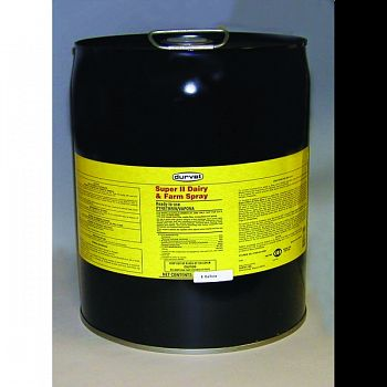 Super Ii Dairy & Farm Spray For Livestock  5 GALLON