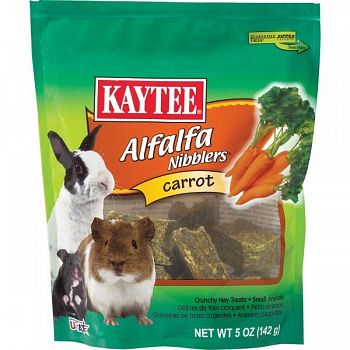 Carrot Nibblers for Small Pets 4 oz.