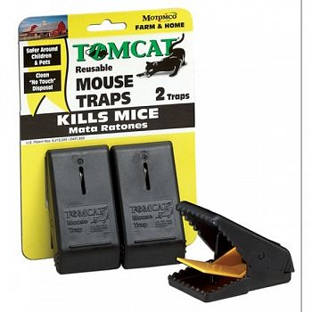 Tomcat Snap Mouse Trap 2 pack