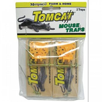 Tomcat Wooden Mouse Trap 2 pack