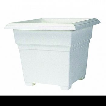 Countryside Tub Planter WHITE 18 INCH