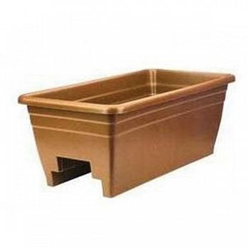 Deck Rail Planter - Terra Cotta