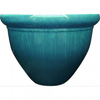 Pizzazz Pop Resin Pottery Planter INSTANBLUE 9 INCH (Case of 12)