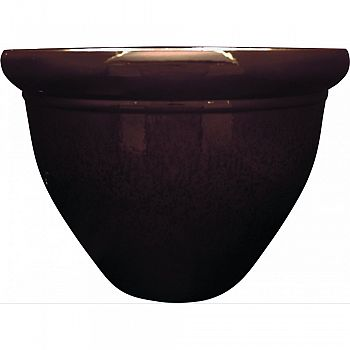 Pizzazz Pop Resin Pottery Planter JAVA CHOCOLATE 16 INCH (Case of 6)