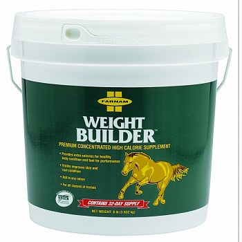 Weight Builder Concentrated Supplement For Horses  8 POUND