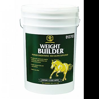 Weight Builder Concentrated Supplement For Horses  28 POUND