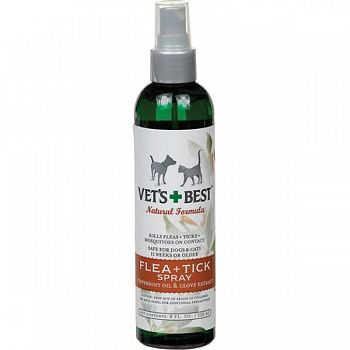 Vets Best Natural Formula Flea & Tick Spray - 8 oz.