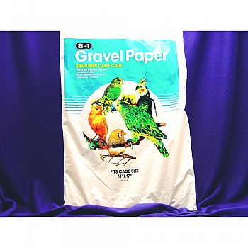 8 in 1 Avian Gravel Paper for Bird Cages