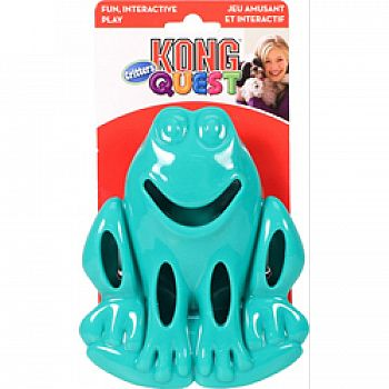 Quest Critter Frog Dog Toy