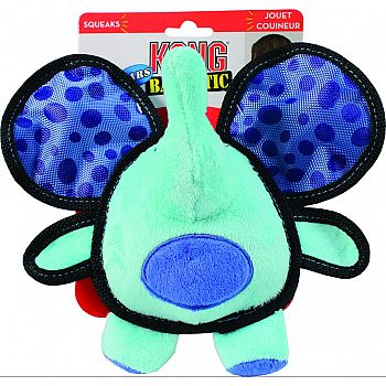 Ballistic Ears Elephant Dog Toy MULTICOLORED MEDIUM