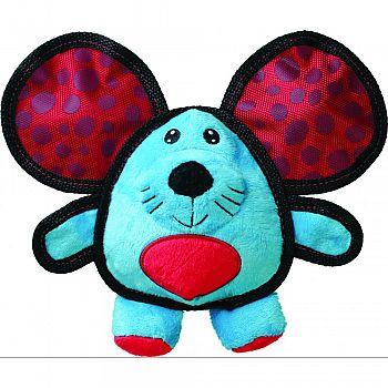 Ballistic Ears Mouse Dog Toy MULTICOLORED MEDIUM