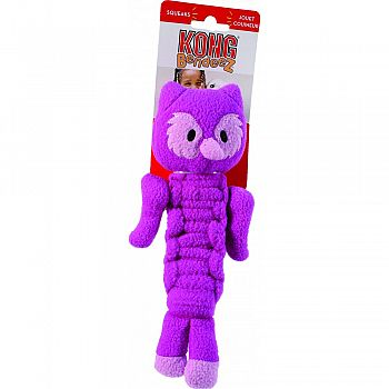 Bendeez Owl Dog Toy PURPLE SMALL