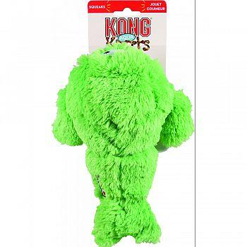 Aqua Knots Walrus Dog Toy GREEN/YELLOW MEDIUM/LARGE