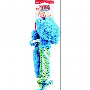 Winders Tails Alligator Dog Toy BLUE/GREEN LARGE
