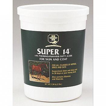 Super 14 Equine Skin & Coat Supplement
