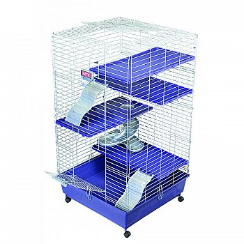 Kaytee Multi Level Guinea Pig / Dwarf Rabbit Home 24 x 24 in.