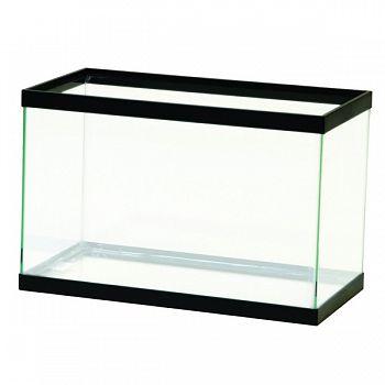 Standard Rectangular Aquarium Tank BLACK 5.5 GALLON