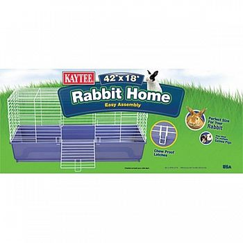 Kaytee Rabbit Home  - 42 x 18 in.