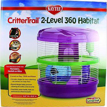 Kaytee Crittertrail 2-level 360 Habitat