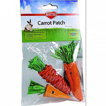 Chew Toy Carrot Patch