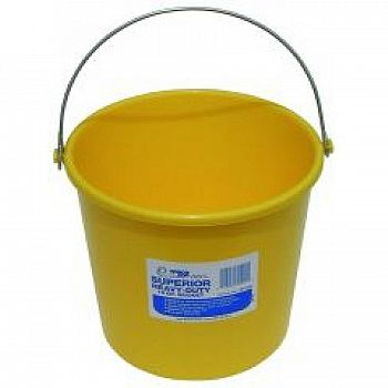 Farm and Home Utility Pail - 10 qt. / White (Case of 12)