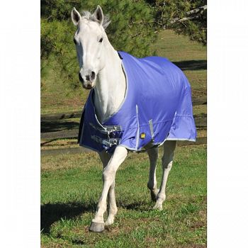 Gatsby Premium 1200d Medium Weight Turnout Blanket PURPLE/SILVER 84 INCH