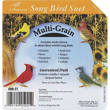 Multi-Grain Suet Cakes  (Case of 16)