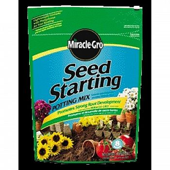 Buy bulk miracle gro seed starting potting mix 8 qt case for Bulk potting soil