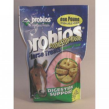 Probios Horse Treat 1 lb - Digestive Support / Apple